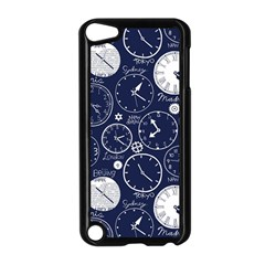 Time World Clocks Apple Ipod Touch 5 Case (black) by Mariart