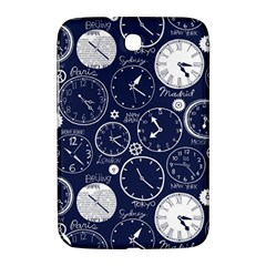Time World Clocks Samsung Galaxy Note 8 0 N5100 Hardshell Case  by Mariart