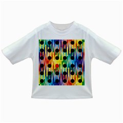 Watermark Circles Squares Polka Dots Rainbow Plaid Infant/toddler T Shirts
