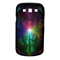 Anodized Rainbow Eyes And Metallic Fractal Flares Samsung Galaxy S Iii Classic Hardshell Case (pc+silicone)