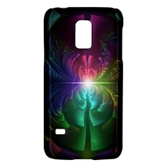Anodized Rainbow Eyes And Metallic Fractal Flares Galaxy S5 Mini