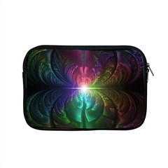 Anodized Rainbow Eyes And Metallic Fractal Flares Apple Macbook Pro 15  Zipper Case