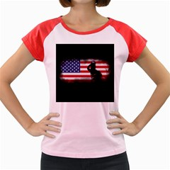 Honor Our Heroes On Memorial Day Women s Cap Sleeve T Shirt by Catifornia