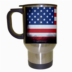 Honor Our Heroes On Memorial Day Travel Mugs (white) by Catifornia