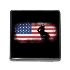 Honor Our Heroes On Memorial Day Memory Card Reader (square) by Catifornia