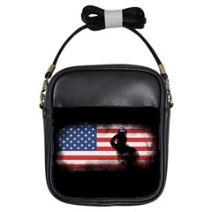 Honor Our Heroes On Memorial Day Girls Sling Bags by Catifornia