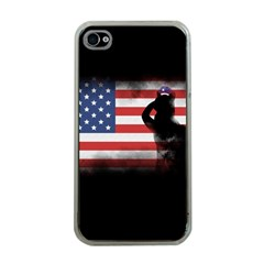 Honor Our Heroes On Memorial Day Apple Iphone 4 Case (clear) by Catifornia
