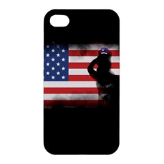 Honor Our Heroes On Memorial Day Apple Iphone 4/4s Hardshell Case by Catifornia