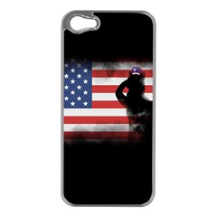 Honor Our Heroes On Memorial Day Apple Iphone 5 Case (silver) by Catifornia