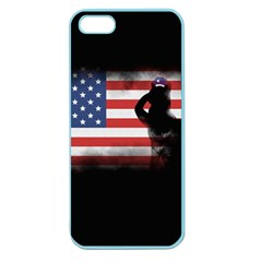 Honor Our Heroes On Memorial Day Apple Seamless Iphone 5 Case (color) by Catifornia