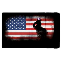 Honor Our Heroes On Memorial Day Apple Ipad 3/4 Flip Case by Catifornia