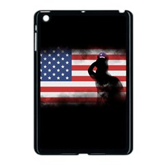Honor Our Heroes On Memorial Day Apple Ipad Mini Case (black) by Catifornia