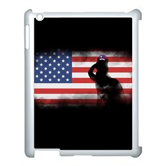 Honor Our Heroes On Memorial Day Apple Ipad 3/4 Case (white) by Catifornia