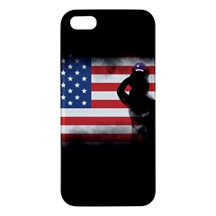 Honor Our Heroes On Memorial Day Apple Iphone 5 Premium Hardshell Case by Catifornia