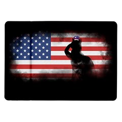 Honor Our Heroes On Memorial Day Samsung Galaxy Tab 10 1  P7500 Flip Case by Catifornia
