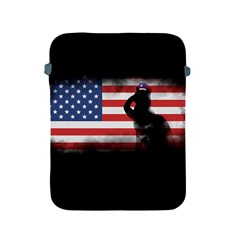 Honor Our Heroes On Memorial Day Apple Ipad 2/3/4 Protective Soft Cases by Catifornia