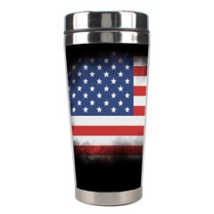 Honor Our Heroes On Memorial Day Stainless Steel Travel Tumblers by Catifornia