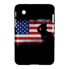Honor Our Heroes On Memorial Day Samsung Galaxy Tab 2 (7 ) P3100 Hardshell Case  by Catifornia