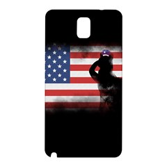 Honor Our Heroes On Memorial Day Samsung Galaxy Note 3 N9005 Hardshell Back Case by Catifornia