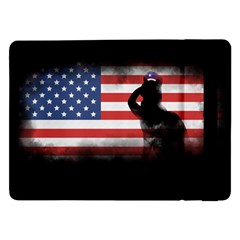 Honor Our Heroes On Memorial Day Samsung Galaxy Tab Pro 12 2  Flip Case by Catifornia