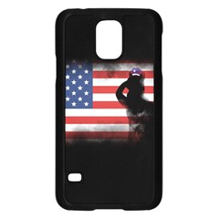 Honor Our Heroes On Memorial Day Samsung Galaxy S5 Case (black) by Catifornia
