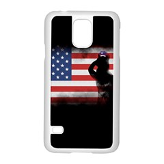 Honor Our Heroes On Memorial Day Samsung Galaxy S5 Case (white) by Catifornia