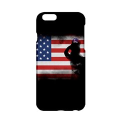 Honor Our Heroes On Memorial Day Apple Iphone 6/6s Hardshell Case by Catifornia