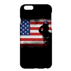 Honor Our Heroes On Memorial Day Apple Iphone 6 Plus/6s Plus Hardshell Case by Catifornia
