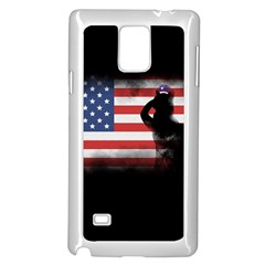 Honor Our Heroes On Memorial Day Samsung Galaxy Note 4 Case (white) by Catifornia
