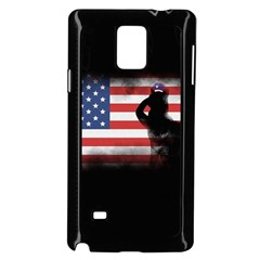 Honor Our Heroes On Memorial Day Samsung Galaxy Note 4 Case (black) by Catifornia