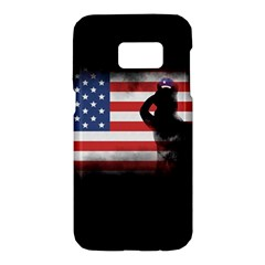 Honor Our Heroes On Memorial Day Samsung Galaxy S7 Hardshell Case  by Catifornia