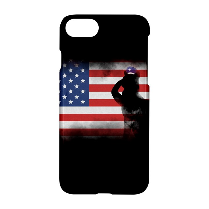 Honor Our Heroes On Memorial Day Apple iPhone 7 Hardshell Case