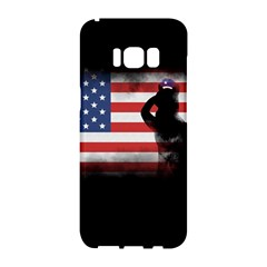 Honor Our Heroes On Memorial Day Samsung Galaxy S8 Hardshell Case  by Catifornia