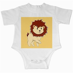 Happy Cartoon Baby Lion Infant Creepers