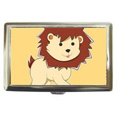 Happy Cartoon Baby Lion Cigarette Money Cases by Catifornia