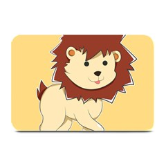 Happy Cartoon Baby Lion Plate Mats by Catifornia