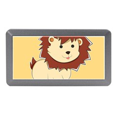 Happy Cartoon Baby Lion Memory Card Reader (mini) by Catifornia