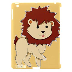 Happy Cartoon Baby Lion Apple Ipad 3/4 Hardshell Case (compatible With Smart Cover) by Catifornia