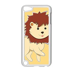Happy Cartoon Baby Lion Apple Ipod Touch 5 Case (white)