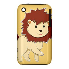 Happy Cartoon Baby Lion Iphone 3s/3gs by Catifornia