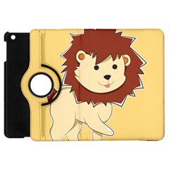 Happy Cartoon Baby Lion Apple Ipad Mini Flip 360 Case by Catifornia