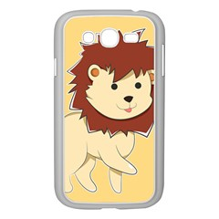 Happy Cartoon Baby Lion Samsung Galaxy Grand Duos I9082 Case (white) by Catifornia