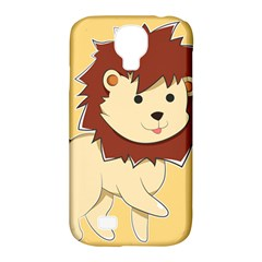 Happy Cartoon Baby Lion Samsung Galaxy S4 Classic Hardshell Case (pc+silicone) by Catifornia