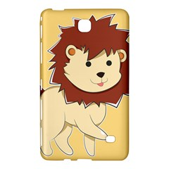 Happy Cartoon Baby Lion Samsung Galaxy Tab 4 (8 ) Hardshell Case  by Catifornia
