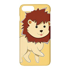 Happy Cartoon Baby Lion Apple Iphone 7 Plus Hardshell Case by Catifornia
