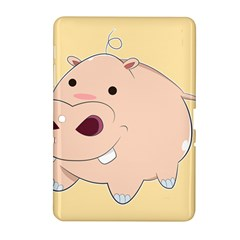 Happy Cartoon Baby Hippo Samsung Galaxy Tab 2 (10 1 ) P5100 Hardshell Case  by Catifornia