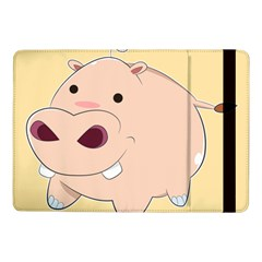 Happy Cartoon Baby Hippo Samsung Galaxy Tab Pro 10 1  Flip Case by Catifornia