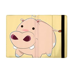 Happy Cartoon Baby Hippo Ipad Mini 2 Flip Cases by Catifornia