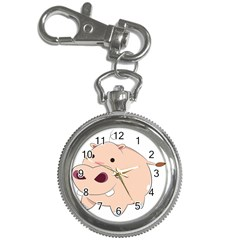 Happy Cartoon Baby Hippo Key Chain Watches by Catifornia
