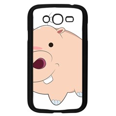 Happy Cartoon Baby Hippo Samsung Galaxy Grand Duos I9082 Case (black) by Catifornia
